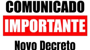Suspensão e redução de contratos de trabalhos são prorrogadas por decreto por até 180 dias.