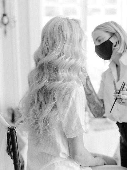 Lauren Fair Caitlyn Meyer Bridal Hair and Makeup Baltimore MD DC VA Destination Weddings Cruelty Free Vegan Artist
