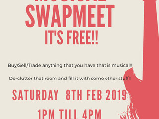 Salvi's swapmeet is on again!