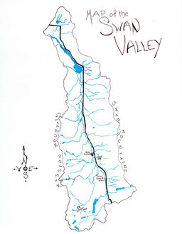 Swan Valley Montana Map.Polyglot Illustrations In Ink And Watercolor By Emily Mccall Wix Com