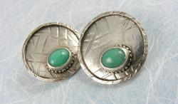 chrysophrase earrings