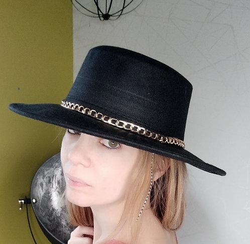 Chapeau casual Noir