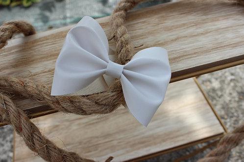 Le joli Bracelet nœud Blanc