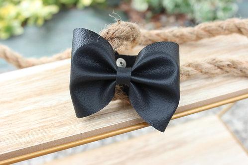 Le joli Bracelet nœud Noir