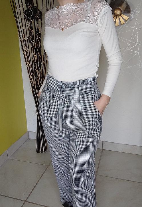 """Le Pantalon à carreau """" Mateil"""""""