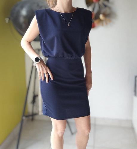 "La petite robe Bleu Marine ""Juliette """