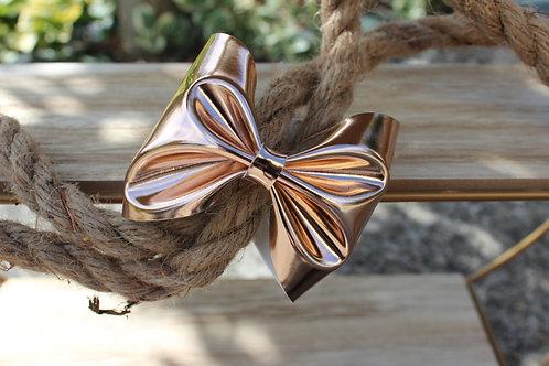 Le joli Bracelet nœud Doré-rosé