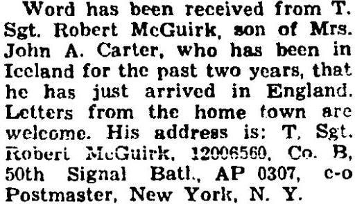 R. McGuirk 1943 Dec 02. p6 County Review