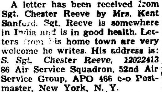 C. Reeve, Mrs. K Sanford 1943 Dec 02. p6