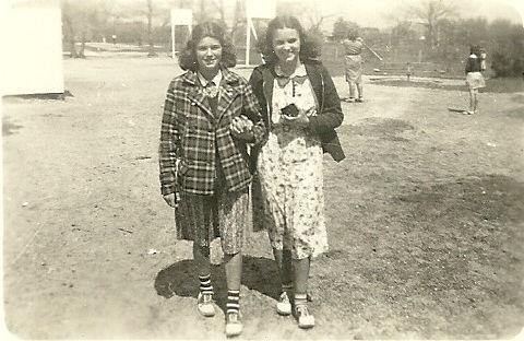Barbara Tilton Lois Glendenning Old Scho