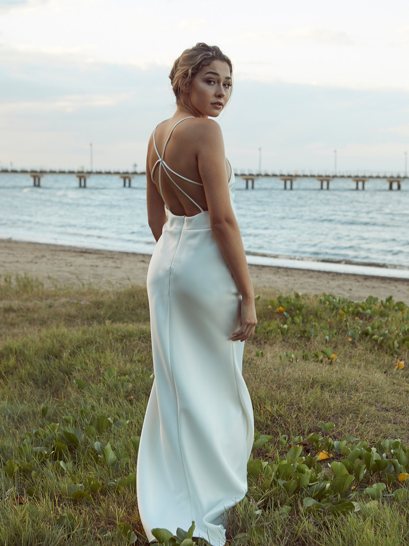 Bella Bias Gown