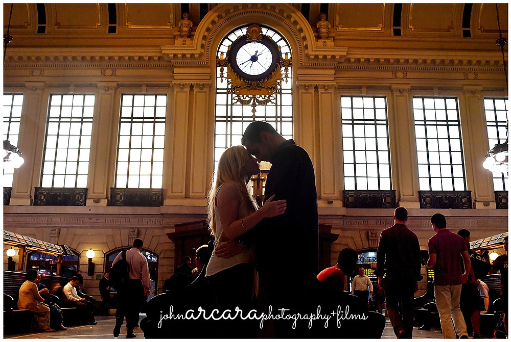Engagement Shoot - Hoboken Terminal