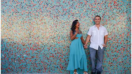 || Real Weddings: Sarah + Mike - Asbury Park Engagement ||