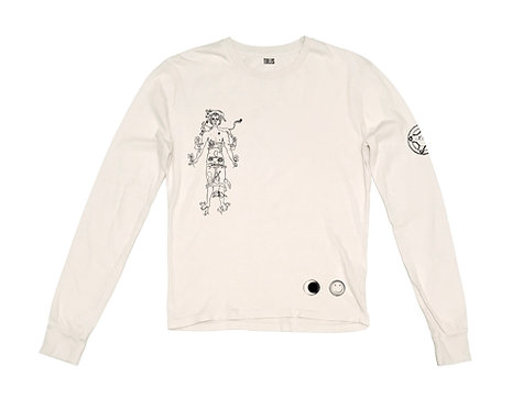 Cream Jupiter Long Sleeve