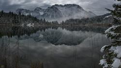 Bergspiegelung im Luttensee
