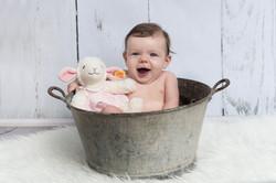 Baby in Wanne