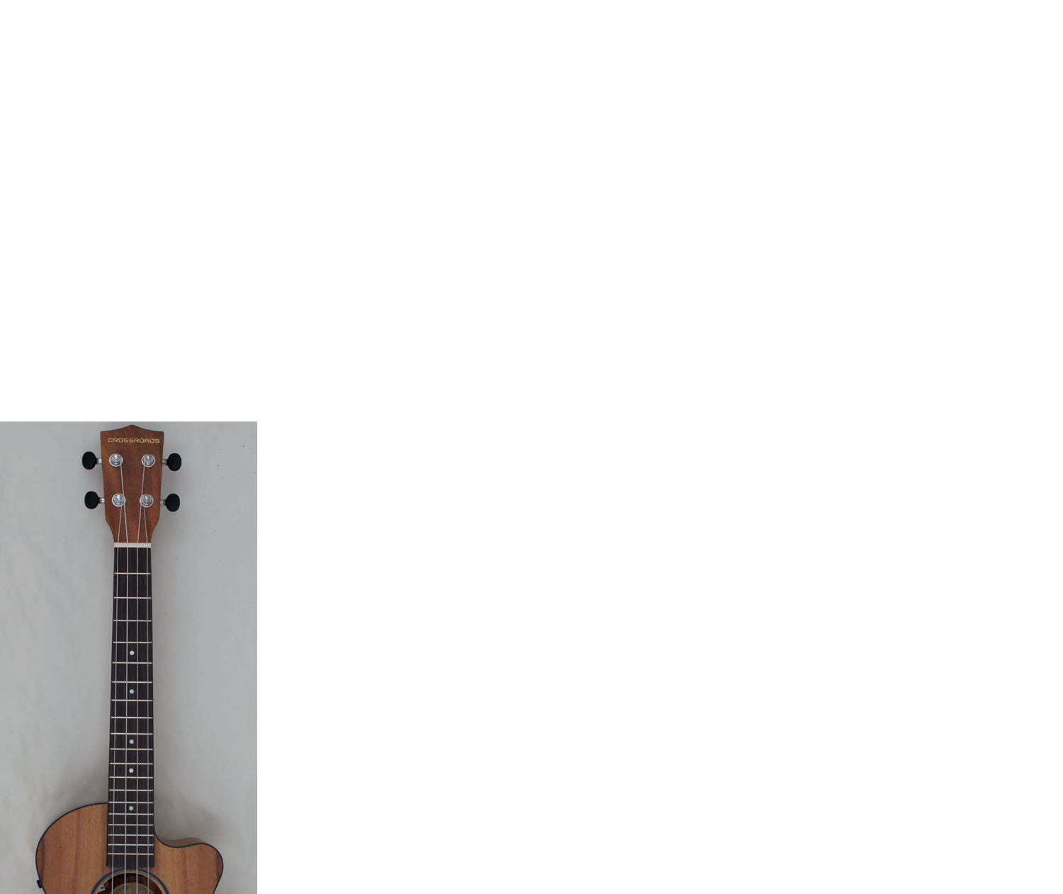 Spruce Ukulele acoustic or electric