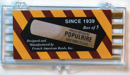 POPULAIRE Bb Clarinet Reed