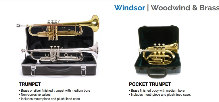 Windsor Band Instruments 78 Records Musi
