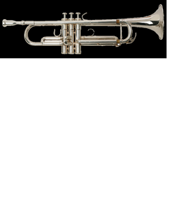 oxford silver plated trumpet