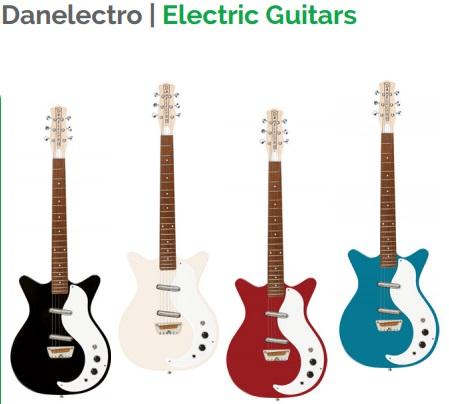 Danelectro Electric Guitars.1