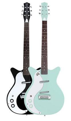 Danelectro- '59M NOS+ LEFTY Guitar