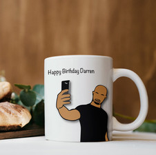 Personalised Birthday Cup
