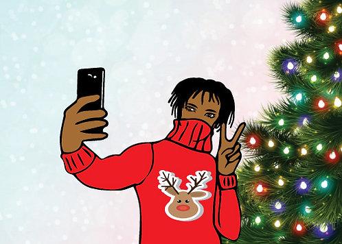 Christmas Greetings Selfie...