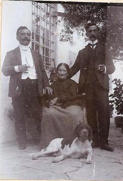 Οικογένεια Ραφαλιά, 1890.
