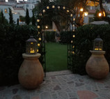 One of the arches in the garden