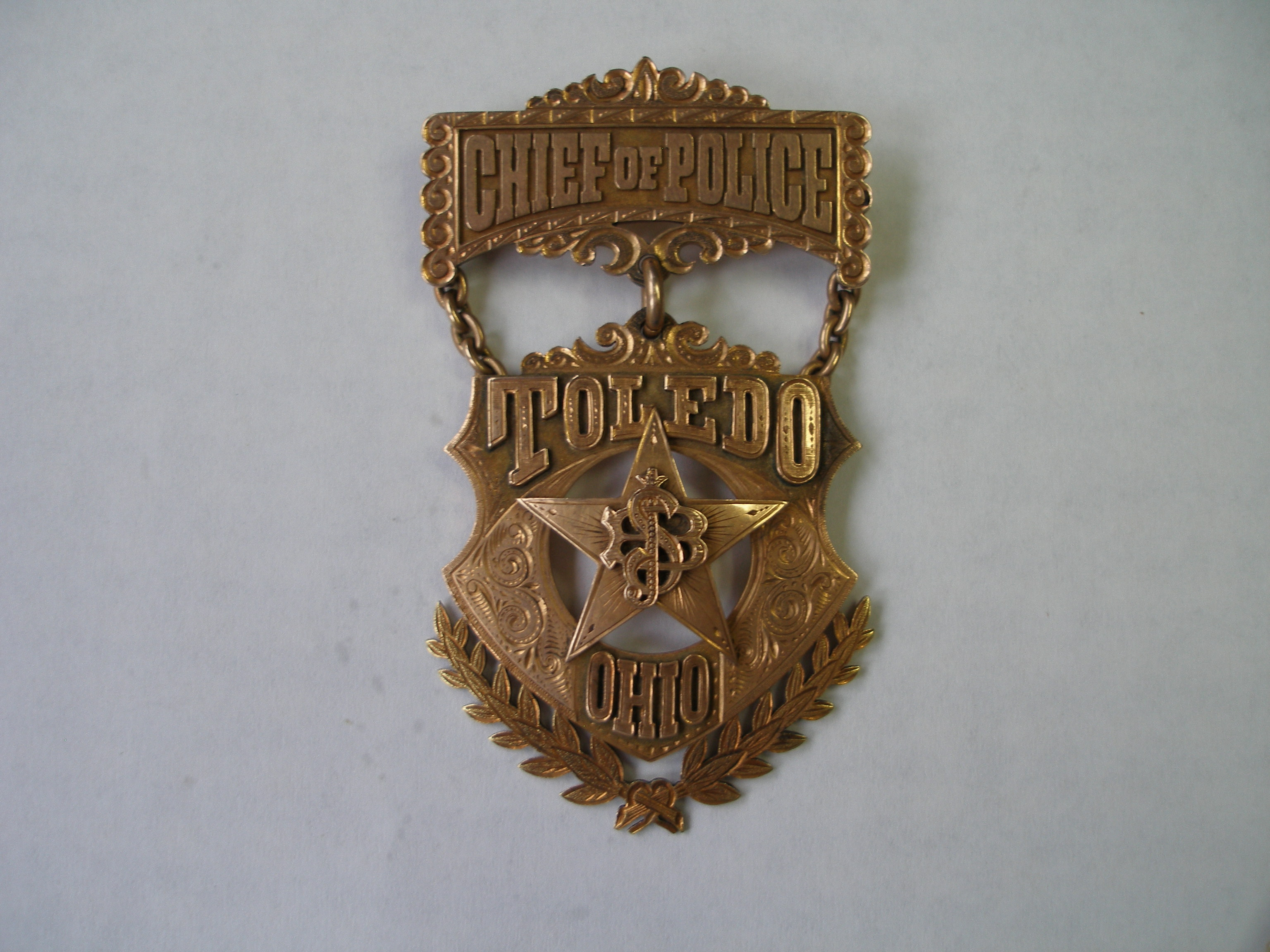 Steedman's Badge Front