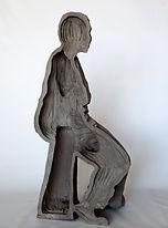Heba, 2015, burnt clay, 56x~40x28.jpg