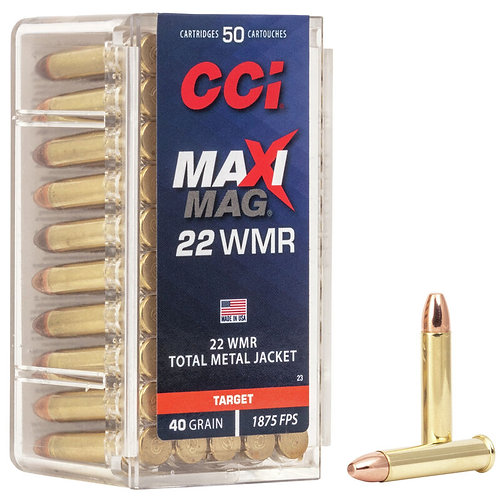 CCI Maxi-Mag TMJ 22 WMR