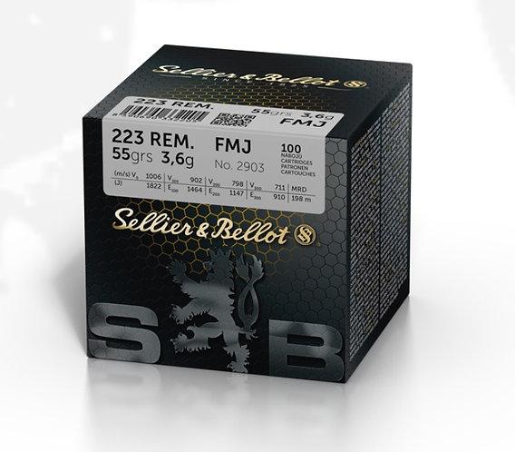 S&B .223 55gr