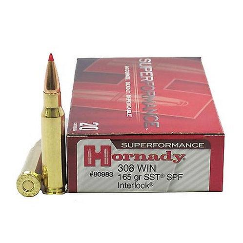 HORNADY 308-165gr-SST