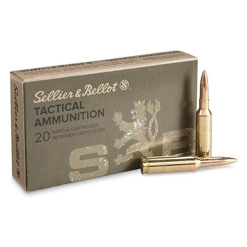 S&B6,5 Creedmoor Tactical 140gr FMJBT