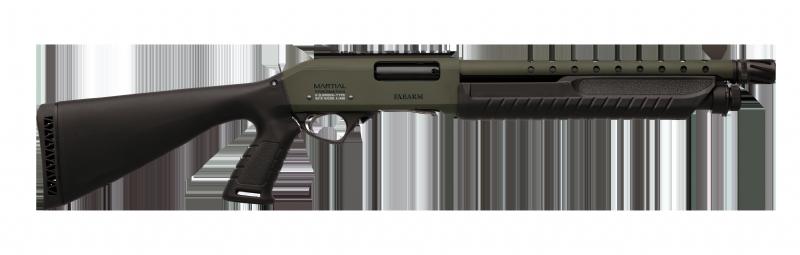 """Strzelba pump-action Fabarm Martial O.D.Green 14"""""""