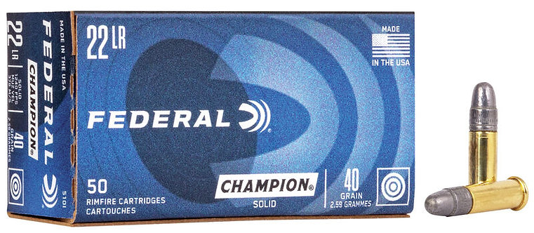 Federal Champion 40gr (.22lr)