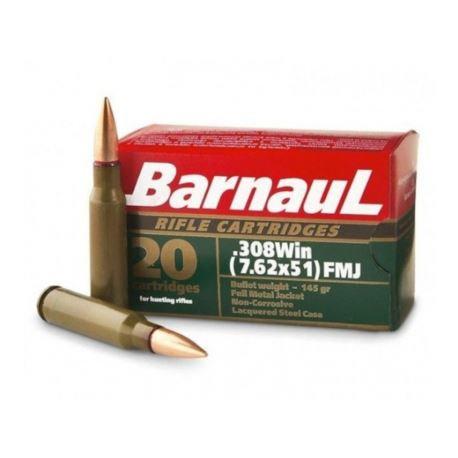 Barnaul .308win FMJ  145gr
