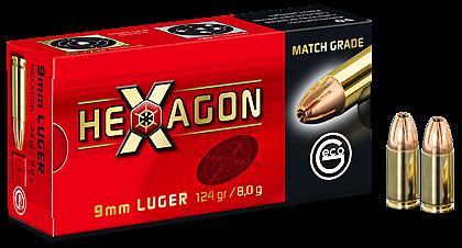 GECO Hexagon 9x19 124gr/8g