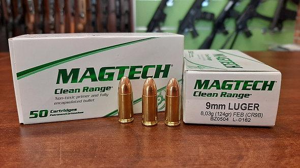 Magtech 9x19, 8g Clean Range (NonTox)