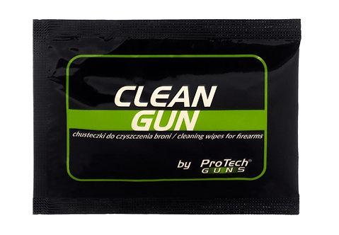 CHUSTECZKI DO CZYSZCZENIA BRONI CLEAN GUN (10 szt)