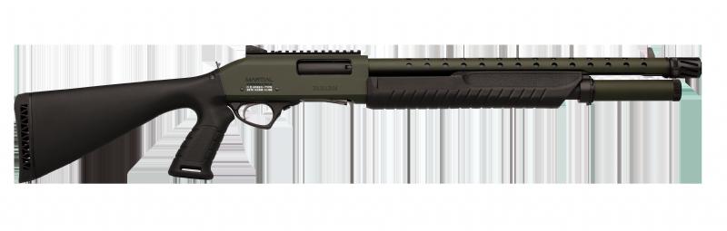 """Strzelba pump-action Fabarm Martial O.D.Green 18"""""""
