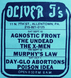 Dayglo, Agnostic Front, Murphy's Law