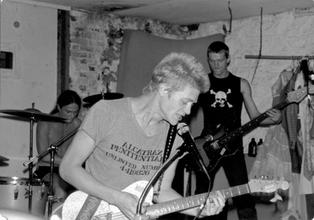 Dayglo at Metropole Clothing Store basement 1981
