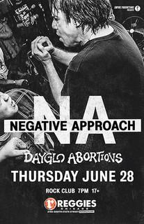 Dayglo/Negative Approach 2