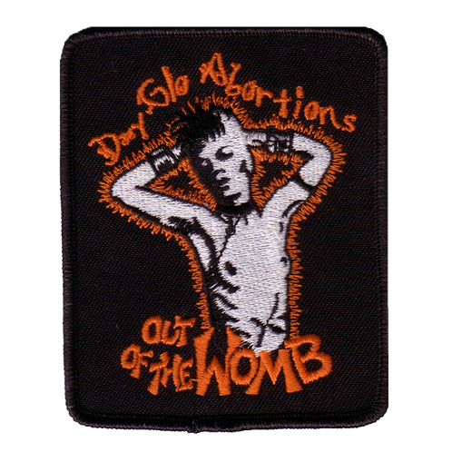 Out of the Womb Embroidered Patch