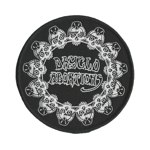 Circle of Skulls Embroidered Patch