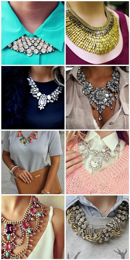 Style tips: How to rock a statement necklace
