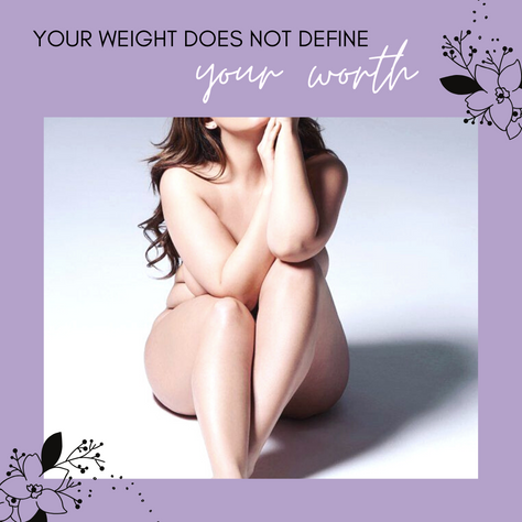 your weight does not define your worth